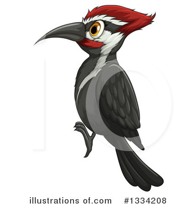Woodpecker Clipart #1334208 by Graphics RF