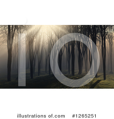 Forest Clipart #1265251 by KJ Pargeter