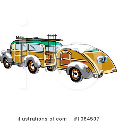 Woodie Clipart #1064507 by Andy Nortnik
