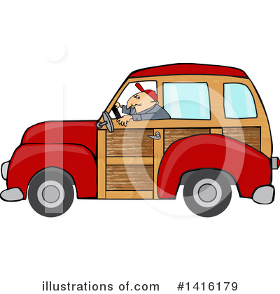Woodie Clipart #1416179 by djart