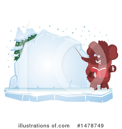 Woolly Mammoth Clipart #1478749 by BNP Design Studio