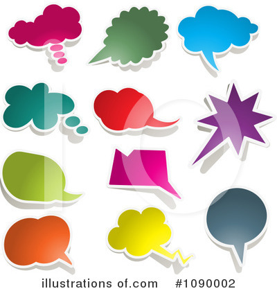 Chat Clipart #1090002 by KJ Pargeter
