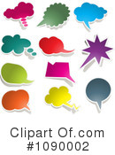 Word Balloons Clipart #1090002
