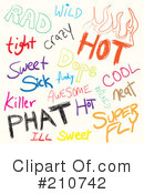 Words Clipart #210742 by Arena Creative