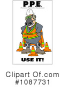 Work Safety Clipart #1087731 by djart
