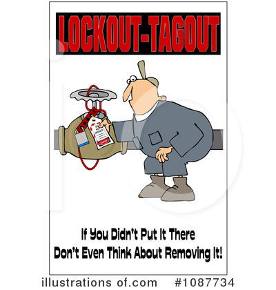 Work Safety Clipart #1087734 by djart