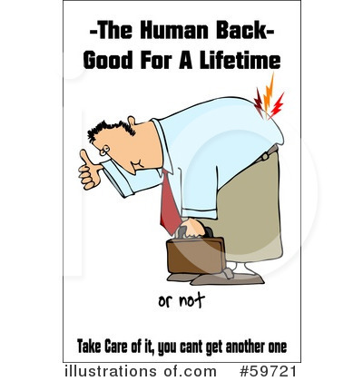 Back Pain Clipart #59721 by djart
