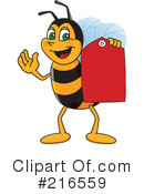 Worker Bee Character Clipart #216559 by Toons4Biz