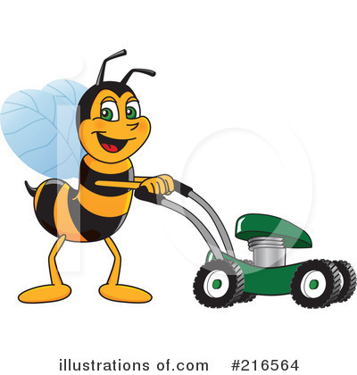 Worker Bee Character Clipart #216564 by Toons4Biz