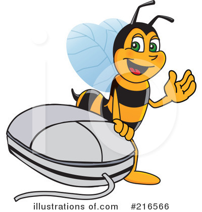 Worker Bee Character Clipart #216566 by Toons4Biz