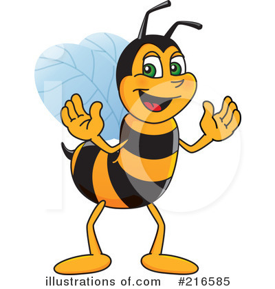 Bee Clipart #216585 by Toons4Biz