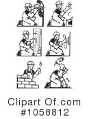 Royalty-Free (RF) Worker Clipart Illustration #1058812