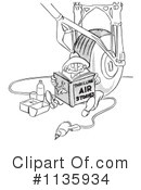 Royalty-Free (RF) Worker Clipart Illustration #1135934