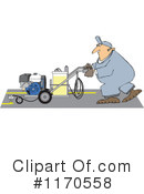 Royalty-Free (RF) worker Clipart Illustration #1170558
