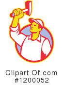 Worker Clipart #1200052 by patrimonio