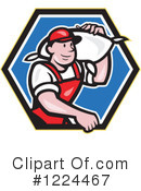Worker Clipart #1224467 by patrimonio