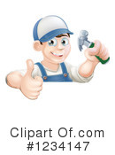 Worker Clipart #1234147 by AtStockIllustration