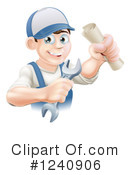 Worker Clipart #1240906 by AtStockIllustration
