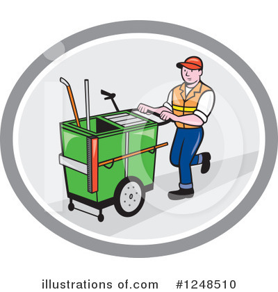 Janitor Clipart #1248510 by patrimonio