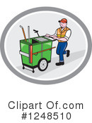 Royalty-Free (RF) Worker Clipart Illustration #1248510
