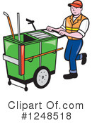 Royalty-Free (RF) Worker Clipart Illustration #1248518