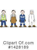 Worker Clipart #1428189 by David Rey