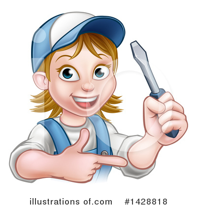 Electrician Clipart #1428818 by AtStockIllustration