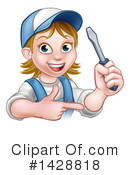 Worker Clipart #1428818 by AtStockIllustration