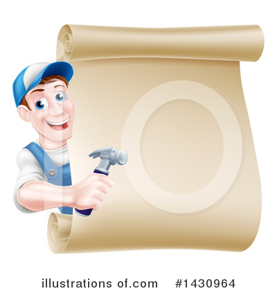 Hammer Clipart #1430964 by AtStockIllustration