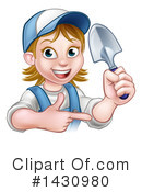 Royalty-Free (RF) Worker Clipart Illustration #1430980