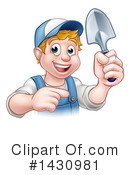 Royalty-Free (RF) Worker Clipart Illustration #1430981