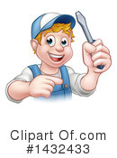 Worker Clipart #1432433 by AtStockIllustration