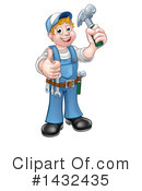 Worker Clipart #1432435 by AtStockIllustration
