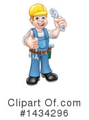 Worker Clipart #1434296 by AtStockIllustration