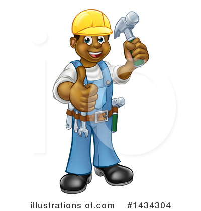 Worker Clipart #1434304 by AtStockIllustration
