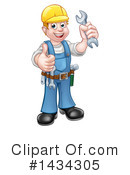 Worker Clipart #1434305 by AtStockIllustration