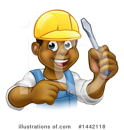 Electrician Clipart #1442118 by AtStockIllustration