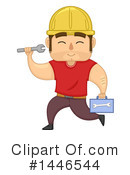 Royalty-Free (RF) Worker Clipart Illustration #1446544