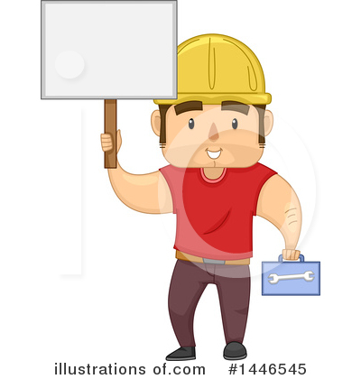 Worker Clipart #1446545 by BNP Design Studio