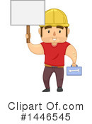 Royalty-Free (RF) Worker Clipart Illustration #1446545