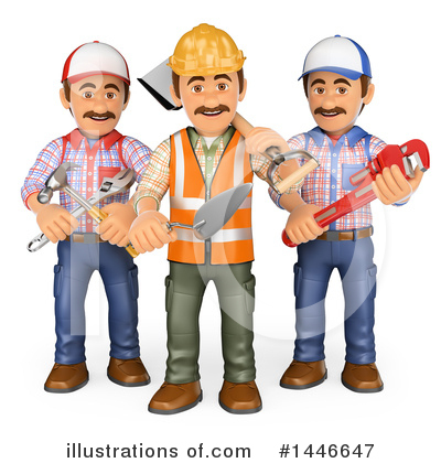 Royalty-Free (RF) Worker Clipart Illustration by Texelart - Stock Sample #1446647
