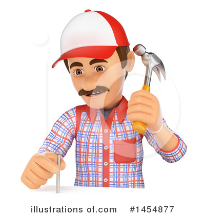 Carpenter Clipart #1454877 by Texelart