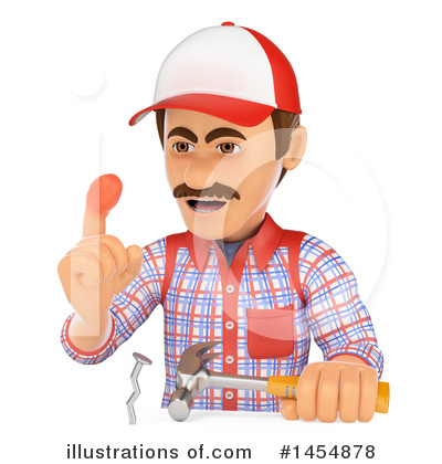 Royalty-Free (RF) Worker Clipart Illustration by Texelart - Stock Sample #1454878
