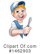Worker Clipart #1462903 by AtStockIllustration