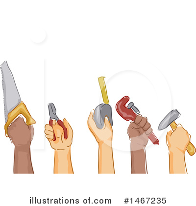 Royalty-Free (RF) Worker Clipart Illustration by BNP Design Studio - Stock Sample #1467235