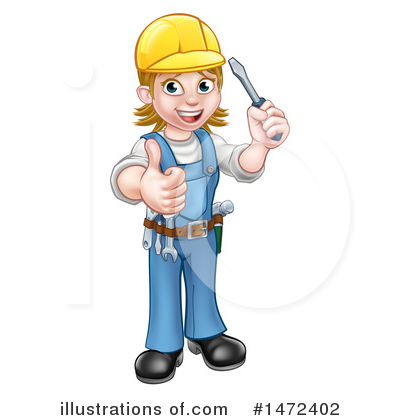 Electrician Clipart #1472402 by AtStockIllustration