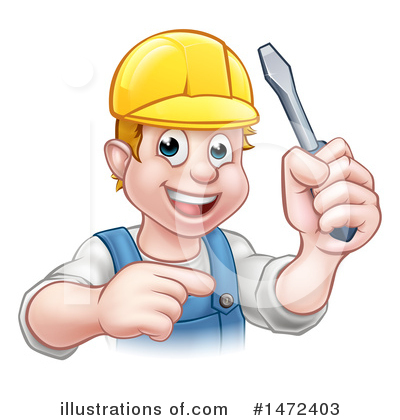 Electrician Clipart #1472403 by AtStockIllustration