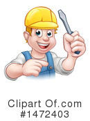 Worker Clipart #1472403 by AtStockIllustration