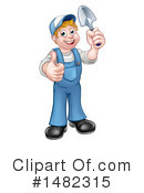 Worker Clipart #1482315 by AtStockIllustration