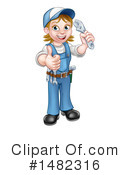 Worker Clipart #1482316 by AtStockIllustration